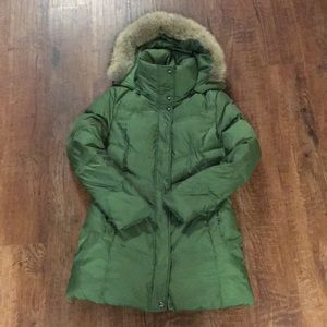 Green down jacket 🧥